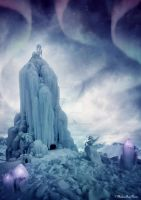Temple of ice by MaliciaRoseNoire