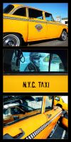 NYC Taxi Collage by th3rdeye