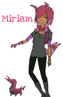 .:Gijinka:. Miriam by Official-Midget