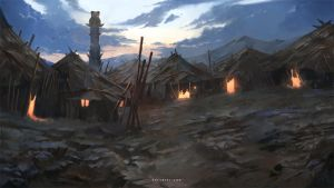 Tribal Village by Nele-Diel