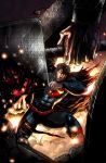 Superman VS. Thor Colored by jey2dworld