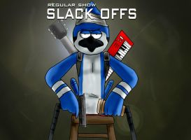 Regular Show Black Ops by mattbyles