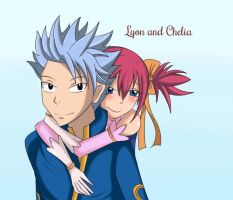 Lyon and Chelia by Sophie4391