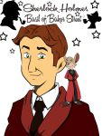 TGMD - Basil of Baker Street and Sherlock Holmes by doraemonbasil