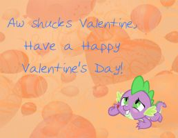 MLP Valentine Spike by JiMMY--CHaN
