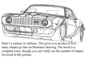 Outline view of that Camaro by cityofthesouth