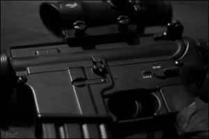 M4A1 Carbine close up by Dj-TheKiller