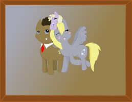 :PC: DerpyHooves FamilyPicture by MarietheDragonwolf