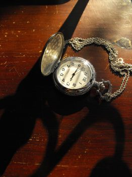 pocket watch and shadow by nia182116