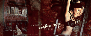It's time to wake up, my dear - Sig by romansalad