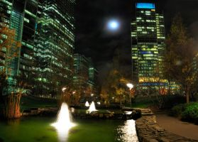Canary Wharf by RevelationSpace
