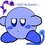 Blue Kirby + Flowers by kiakashi