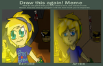 meme before and after Pewdiepie by shadowlover40