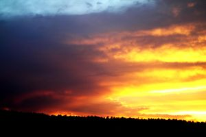 Colorado Sunset 02 by Foxtrot44