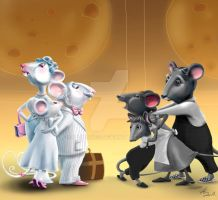 Every mouse likes the cheese by IronAries