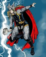 Thor by VincentBryantArt