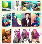 Tennis avatars by Thomson9