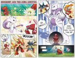 Short comic - Genosect and the Mega Mewtwo by elyoncat
