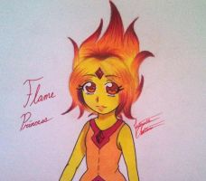 Pondering Flame Princess by 33starrynight33