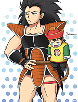 Uncle Raditz by HetemSenar