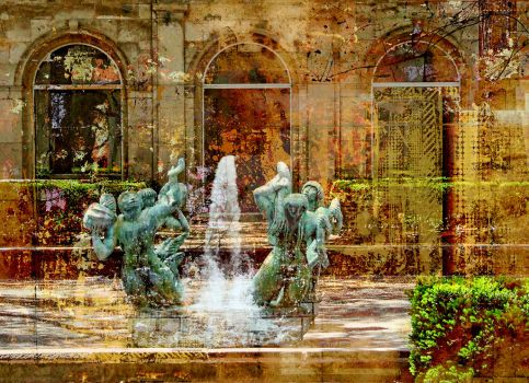 Fountain Chicago by Painter1959