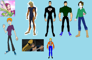New members of X-treme Justice by JDS916Guy