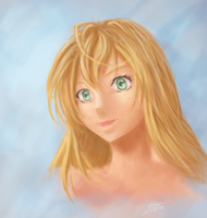 Speed painting - portrait by Tyfflie