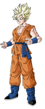 Goku Super Saiyan by BardockSonic
