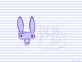 nauti the fluffy bunny wp by ilovegravy