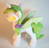 Changeling OC by Yukamina-Plushies