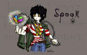 Spook- Heart on a Chain by The-Alchemists-Muse
