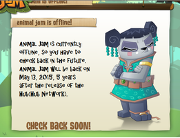 Animal jam is offline base by roseyicywolf on deviantart