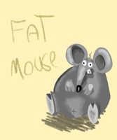 fat mouse by oridan2