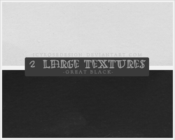 LargeTextures_GreatBlack by icyrosedesign