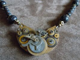 Prepare for Takeoff Steampunk Bird Necklace by A-Sharper-Spectrum