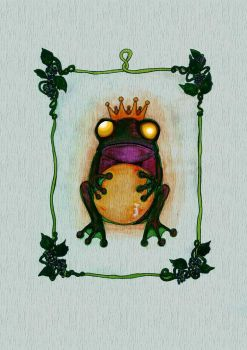 Lovely angry toad by mindonna