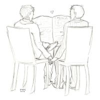 Mystrade by ashestocrows