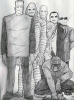 A Bunch Of Handsome Guys by Jochimus