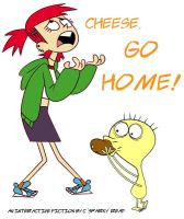 Cheese, Go Home! by NeitherSparky