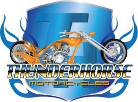 Thunderhorse Motorcycle Logo by crossfreak