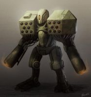 Mech design by Matija5850