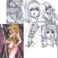 even more sheena cards 032011 by raccoon-eyes