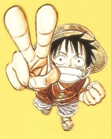 Monkey D. Luffy by piesoup