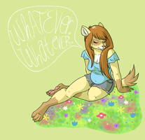 Whatever Whatever by CatsnCupcakes