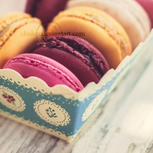 Macaroon by cloduy