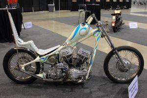 Classy Old School Chopper by DrivenByChaos