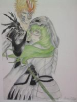 Ichigo and Nelliel by NeoAngeliqueAbyss