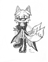Commission- Rick Fox Sketch by Knuxtiger4