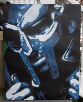 MF DOOM by zerekdielinski
