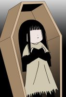 Sunako in Coffin by zeak103